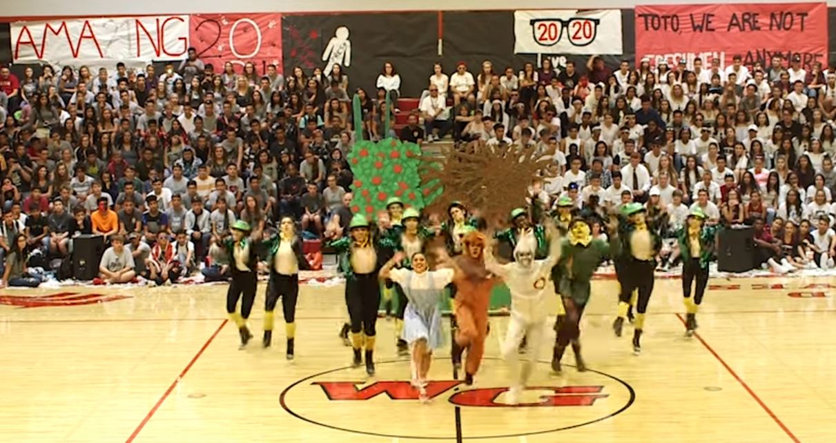 "At Walden Grove High School, The Dance Team's Performance Of ""The Wizard Of Oz"" At A Homecoming Pep Rally Went Viral After It Was Posted On YouTube."