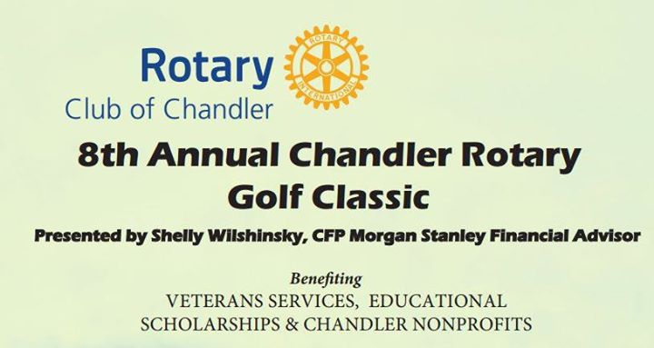 8th Annual Chandler Rotary Golf Classic. Photo Courtesy Chandler Rotary Club.