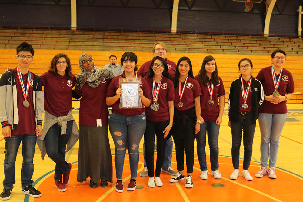 Cesar Chavez High School Students Win Big At The Academic Decathlon. Photo Courtesy Of Phoenix Union High School District