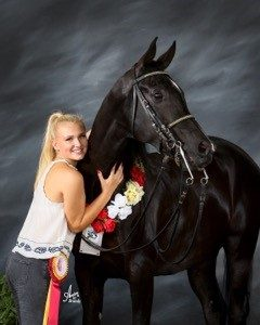 Nicole Larson Cactus Shadows High School Class of 2018  Letters as a US Equestrian Athlete Nicole-Larson-240x300