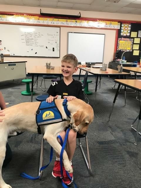 Canine Companions for Independence facility dog joins Kyrene de la Esperanza Trekkie-and-Bolt