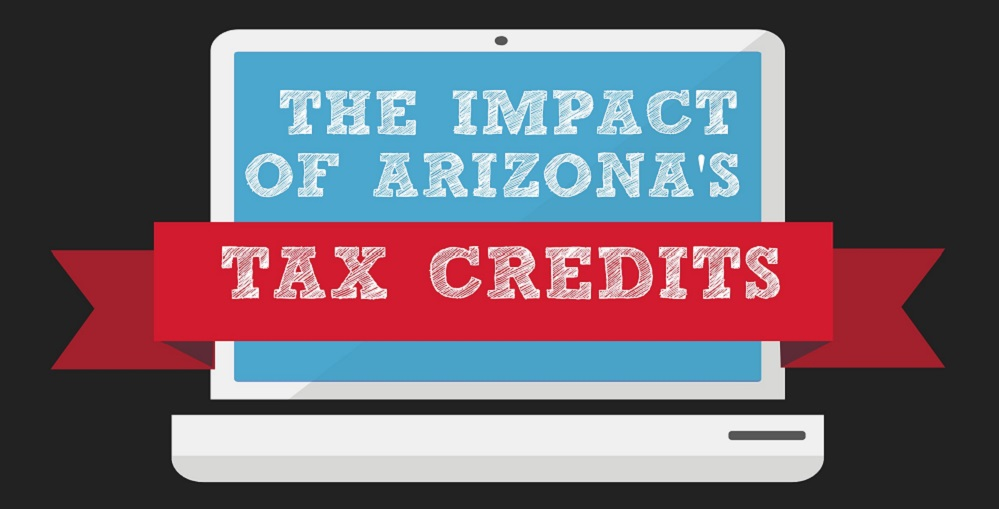 A Portion Of The AZEdNews' The Impact Of Arizona's Tax Credits Infographic By Lisa Irish/AZEdNews