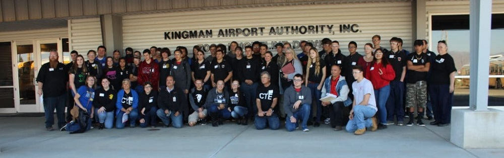 For The Past Two Years, Educators With Kingman Unified School District And The Team At The Kingman And Mohave Manufacturers Association (KAMMA) Have Teamed Up To Host High School Students On An Educational Tour Of Manufacturers In The Area. Photo Courtesy Kingman Unified School District