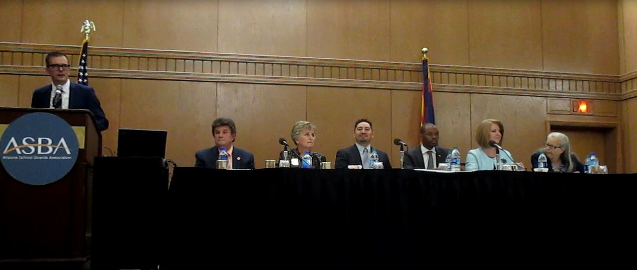 A Panel Of Arizona Legislators Discuss Their Education Priorities For The Upcoming Session And Their Ideas On Finding Revenue Streams To Fund Public K-12 Education. Photo By Lisa Irish/Arizona Education News Service