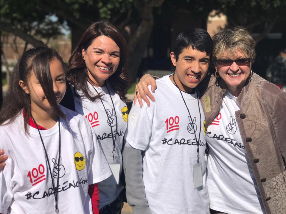 Dr. Lily Matos DeBlieux And Students And Staff Attending The Stand Up, Speak Out, Save A Life Conference. Photo Courtesy Of Pendergast Elementary School District