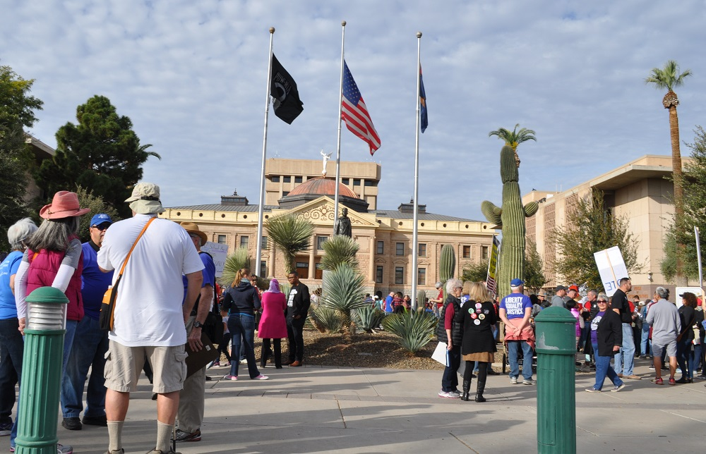 AZ Legislature approves budget & adjourns, Gov. signs bills Rally21