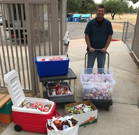 Four Years Ago, A Parent At Sandpiper Elementary School Noticed That Perfectly Good Food Was Being Wasted, And Partnerships With Food Bus, Inc. And Waste Not AZ Were Formed. Photo Courtesy Of Paradise Valley Schools