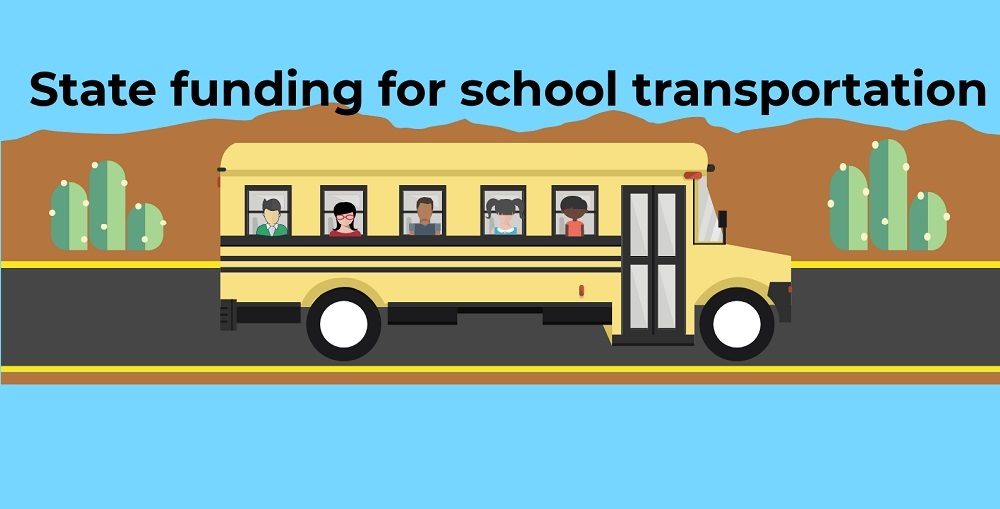 A Portion Of The AZEdNews' School Transportation Funding Infographic By Lisa Irish/AZEdNews