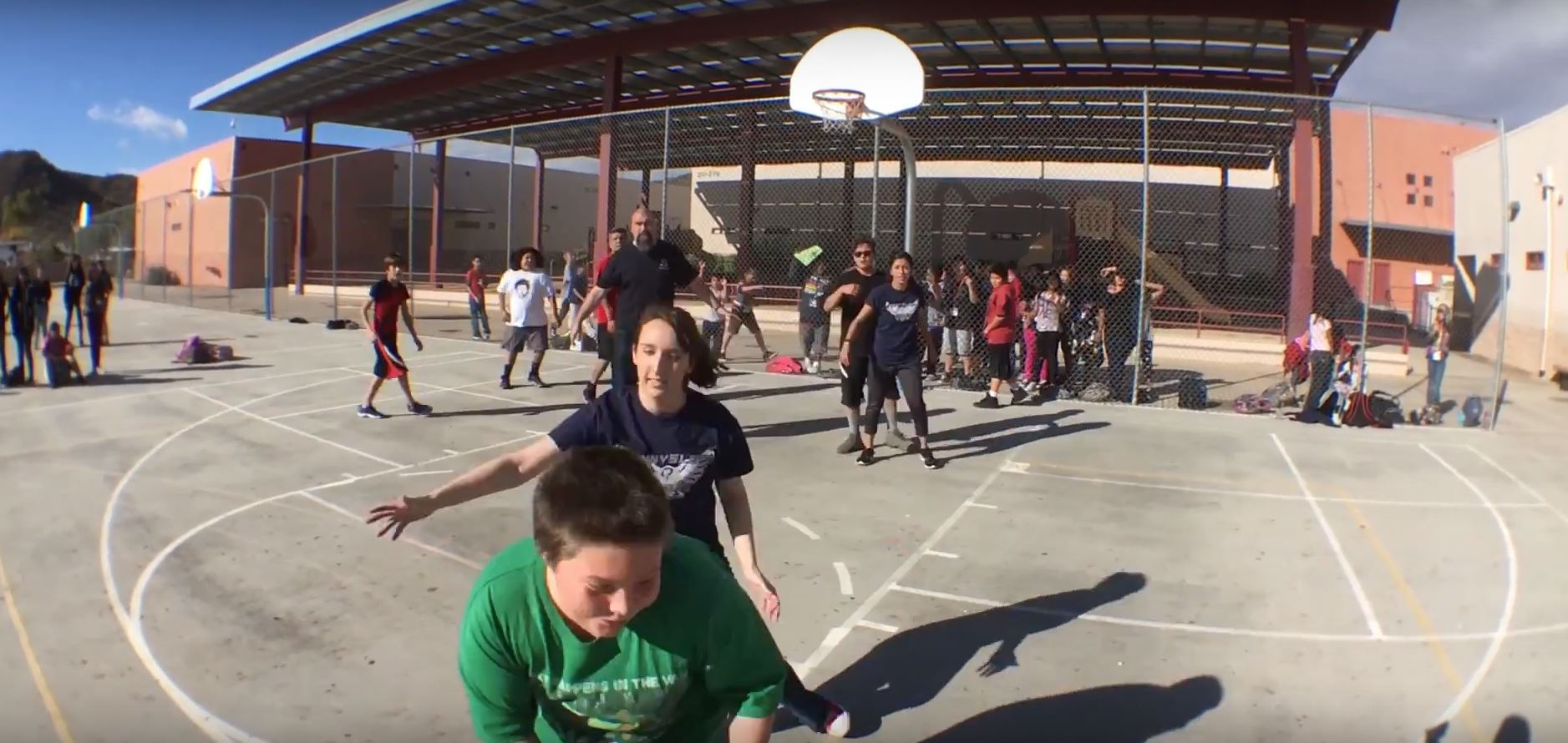 The power of a caring adult can change a child's life KidsatHopeBasketballGame