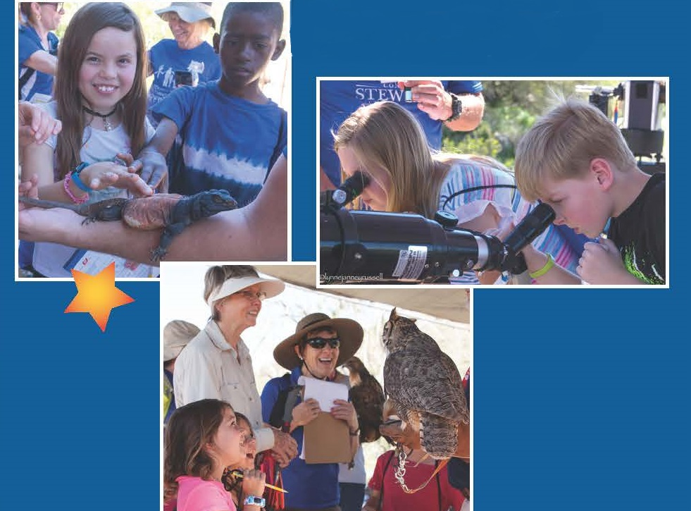 Students Taking Part In Programs Through The McDowell Sonoran Conservancy. Photos Courtesy Of The McDowell Sonoran Conservancy