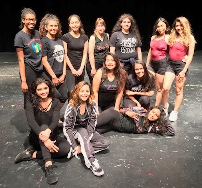 Students take part in first Phoenix Union Dance Festival district-dance-festival-2018-student-leaders-Cropped