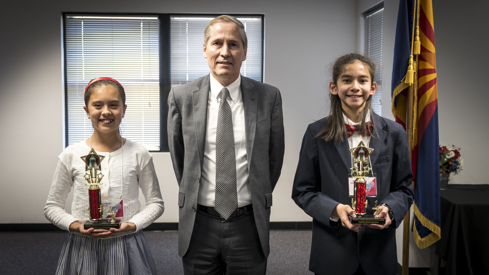 Peoria Unified students compete in annual patriotic speech contest Area-2-Winners