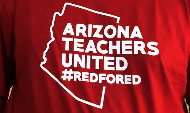 Arizona teachers group will back Ducey opponent Garcia in November""