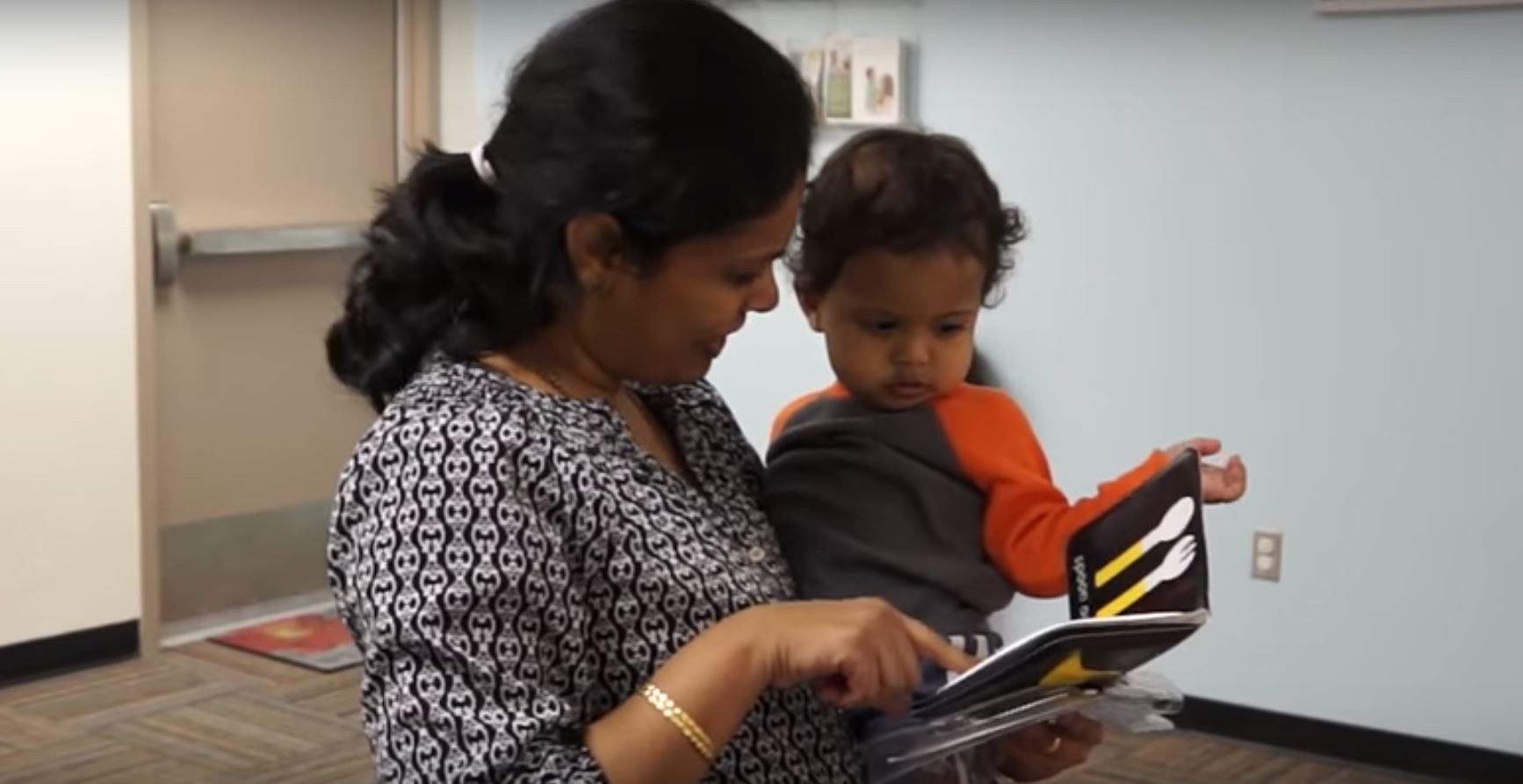 A Parent Reads With Her Young Child To Help Him Develop The Language And Literacy Skills He Will Need To Succeed In School. Photo Courtesy Southwest Human Development