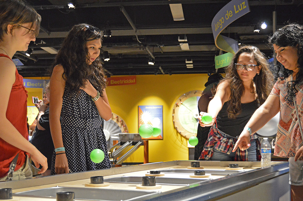Teens Take Part In A Social Event At The Arizona Science Center In 2017. Photo Courtesy The Arizona Science Center