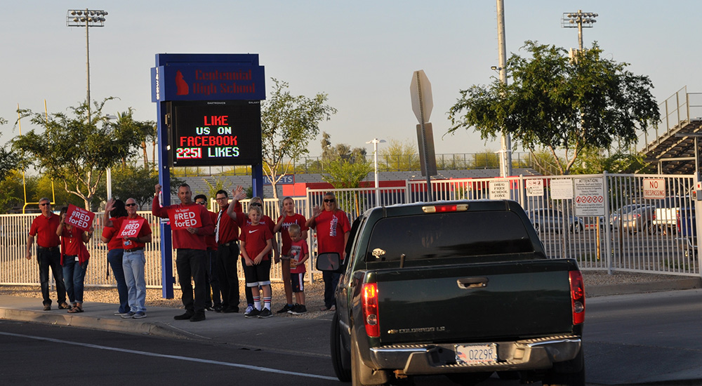 Slideshow: Arizona teacher walk-ins CentennialWalkIn12Cropped