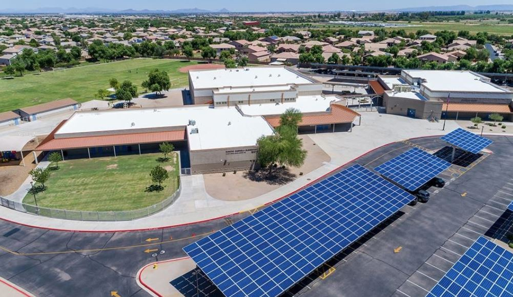 Rancho Gabriela School In The Dysart Unified School District Was One Of Arizona's 2017-18 A+ Schools. Photo Courtesy Dysart Unified School District