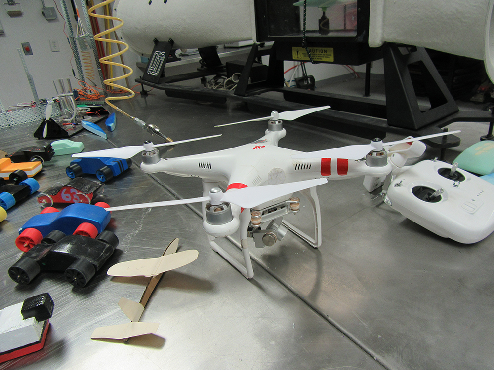 Projects Students In The Engineering Program Are Working On. Photos Courtesy Of Flagstaff Unified School District