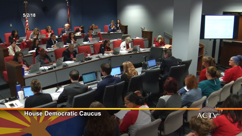 Legislature approves budget, including teacher pay increase May2HouseDemocratic-Caucus