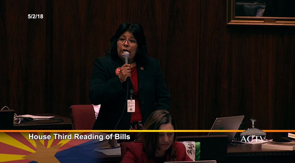 Legislature approves budget, including teacher pay increase May3-Wanda-Benally