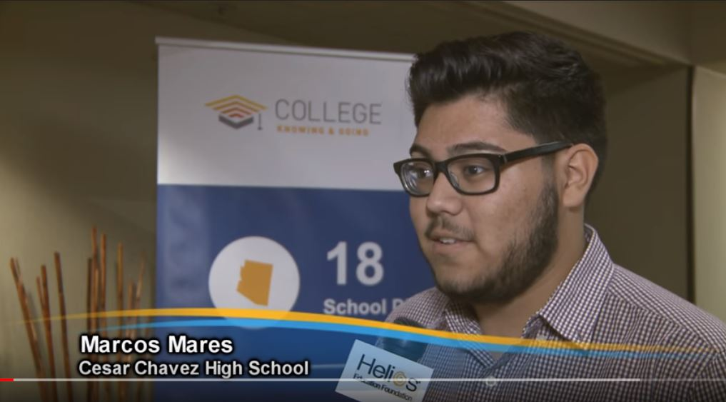 Helios Launched The College Knowing & Going Initiative In 2015 To Create A College-going Culture At 18 Partner School Districts In Arizona. Photo Courtesy Of Helios Education Foundation