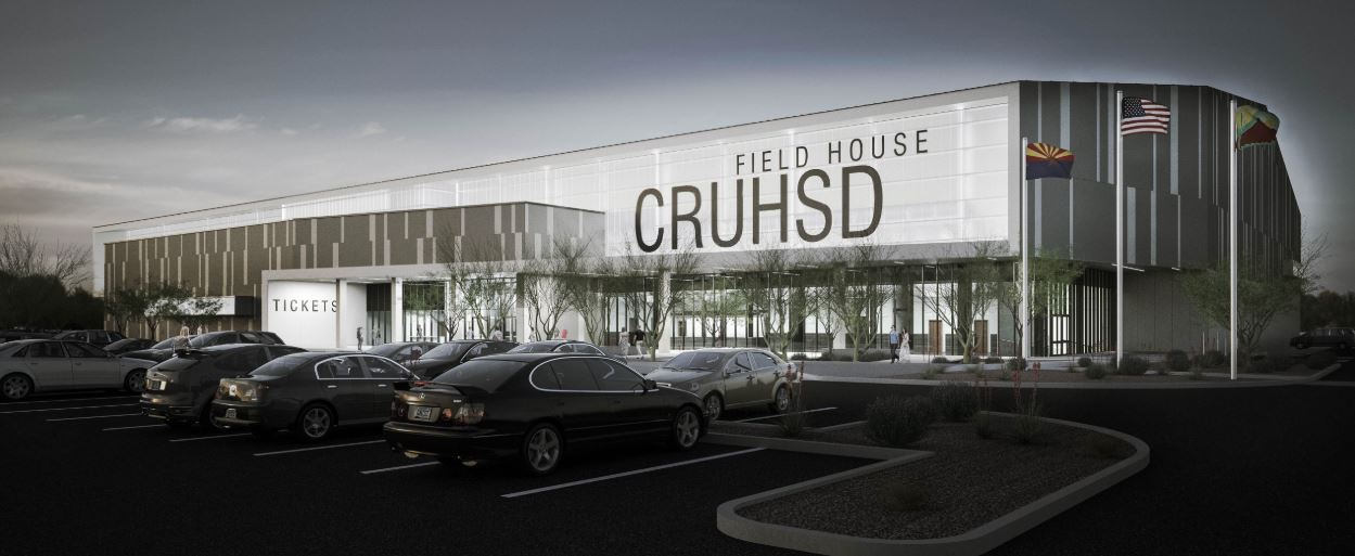 Artist's Renderings Of The Anderson Auto Group Fieldhouse.