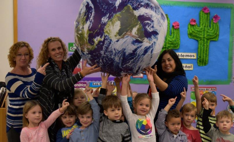 New For The 2018-19 School Year, Desert Sun Academy Will Offer Students The Global Beginnings Preschool. Global Beginnings Preschool Will Allow The Students To Experience Their Day Learning 3 Languages, Spanish/French/English. Language Immersion Is An Educational Approach, Especially Effective For Young Children That Results In Second Language Acquisition. Photo Courtesy Cave Creek Unified School District