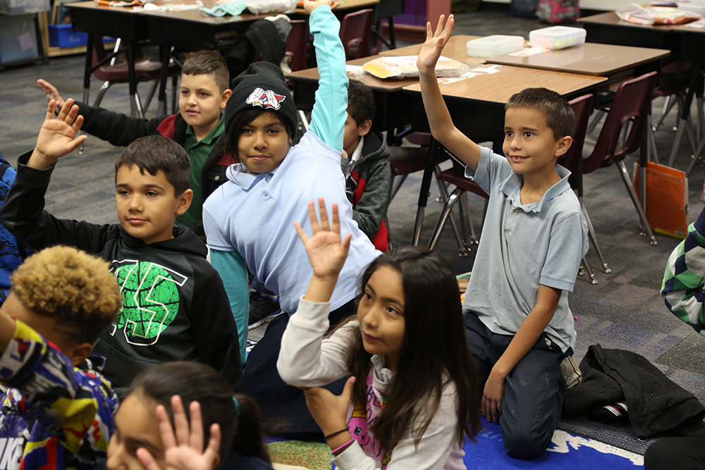 Students At Tolleson Elementary School District During Class. Photo By Brooke Razo/AZEdNews