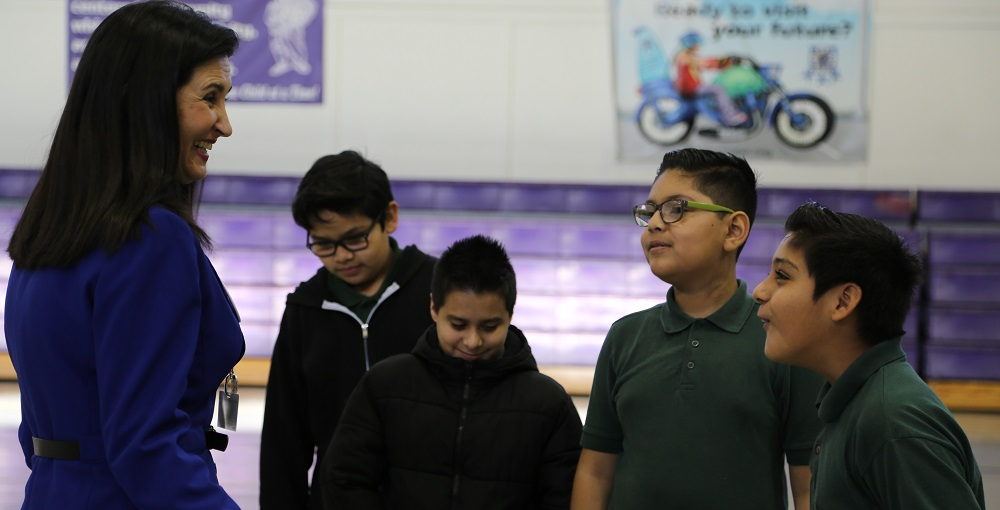 Slideshow: Students At Porfirio Gonzales Elementary School