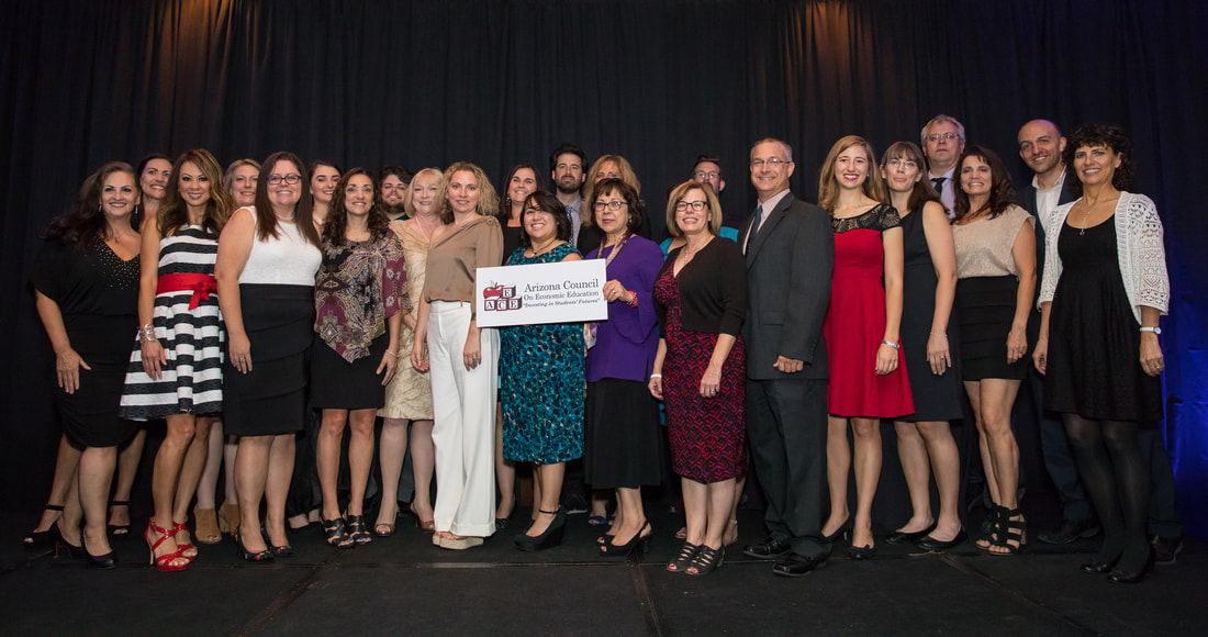 Two Tucson teachers to receive the Economic Education Teacher of the Year Award champions-in-education-gala-5_orig