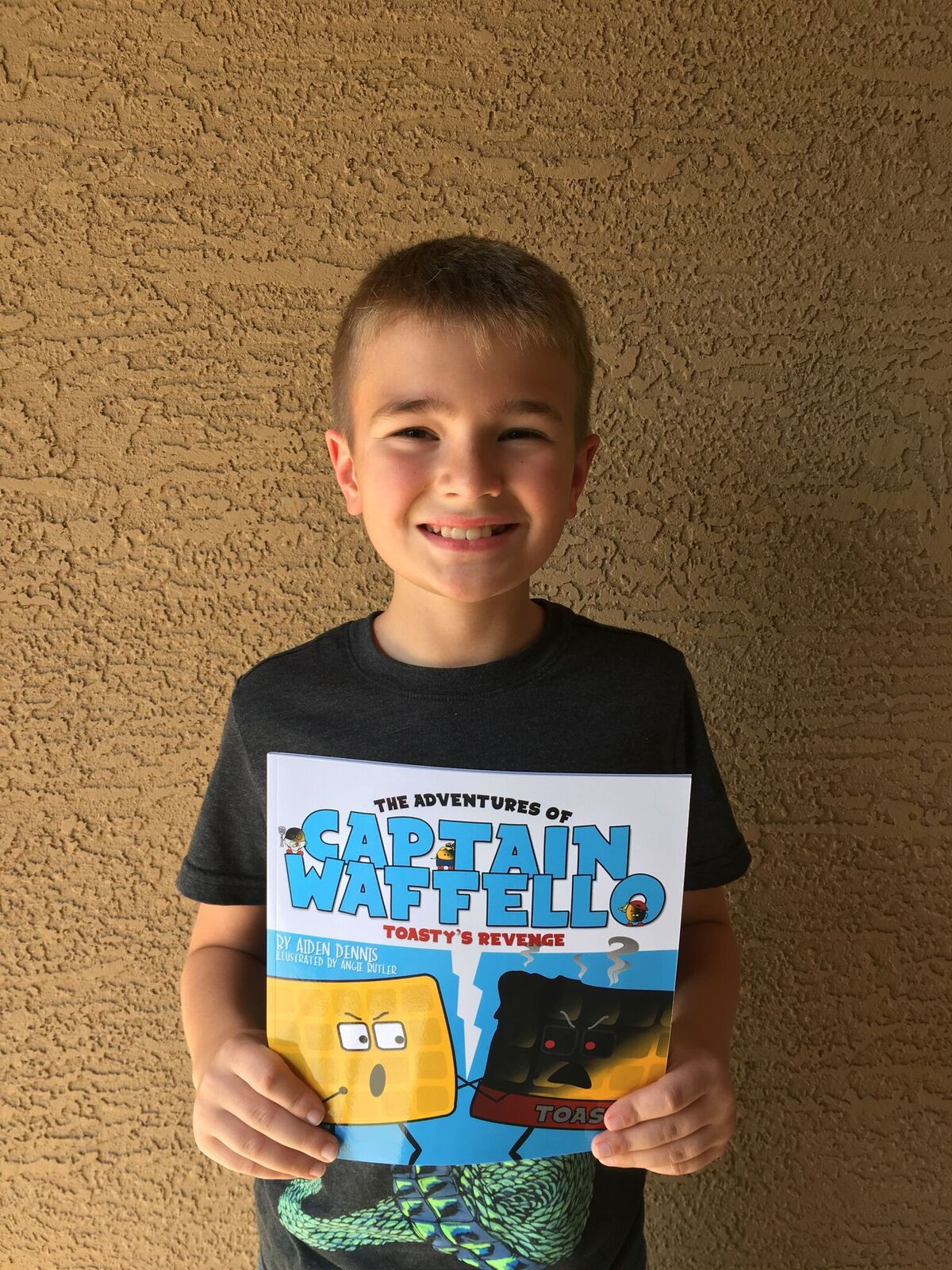 Some Authors Wait Years To See Their Name In Print, But Centennial Sixth-grade Student Aiden Dennis, 11, Saw His Book Come To Life In A Matter Of Weeks. Photo Courtesy Of Higley Unified School District