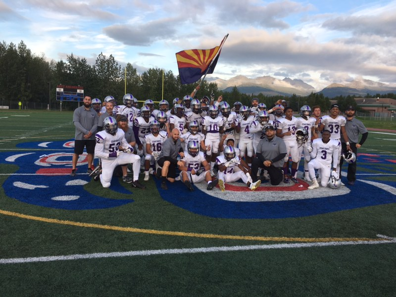 The Cesar Chavez High School Football Team Kicked Off The Season Friday, August 17 In A Game Against The East Anchorage Thunderbirds. Photo Courtesy Phoenix Union High School District