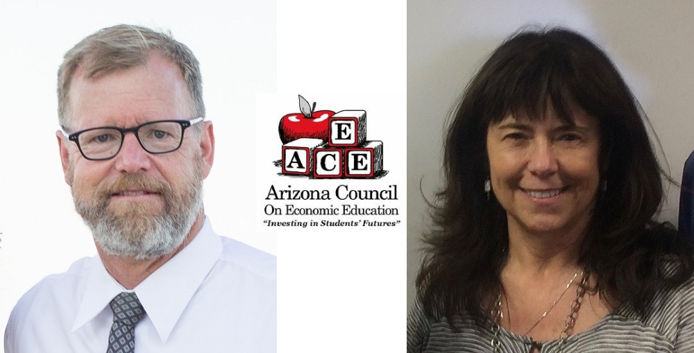 Two Tucson Teachers Are Recipients Of Arizona Council On Economic Education's (ACEE) 2018 Economic Education Teacher Of The Year Award. Liz Bradshaw, An Elementary School Teacher At Vail Unified School District, And James Lerch, A High School Teacher At Tucson Unified School District, Are Being Recognized For Engaging Students And Supporting Peers In The Teaching And Learning Of Economics And Financial Literacy, As Well As Their Continuous Improvements As Teachers Through Professional Development.