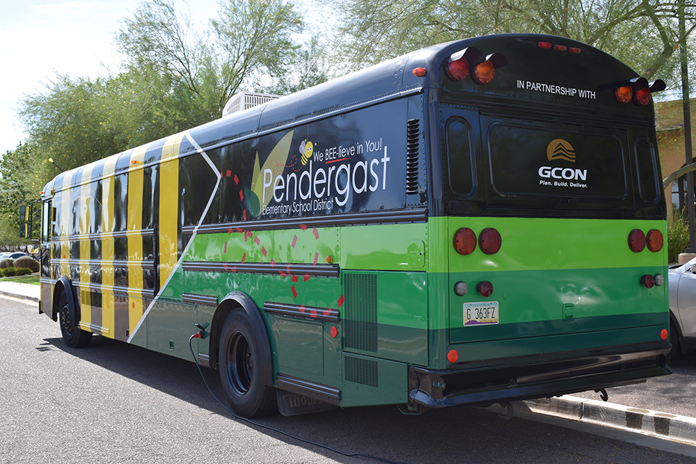 Pendergast School District Transformed A Retired School Bus To Create The Pendergast Puzzle Escape Room Bus For Students In Grades 3-8 In The District And For Adults To Enjoy. Photo Courtesy Pendergast School District