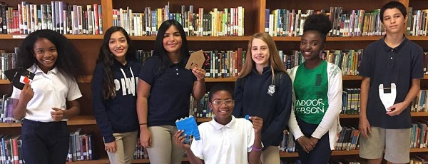 Mansfeld Magnet Middle School Students Take Part In A STEM Boat Building Challenge. Photo Courtesy Mansfeld Magnet Middle School