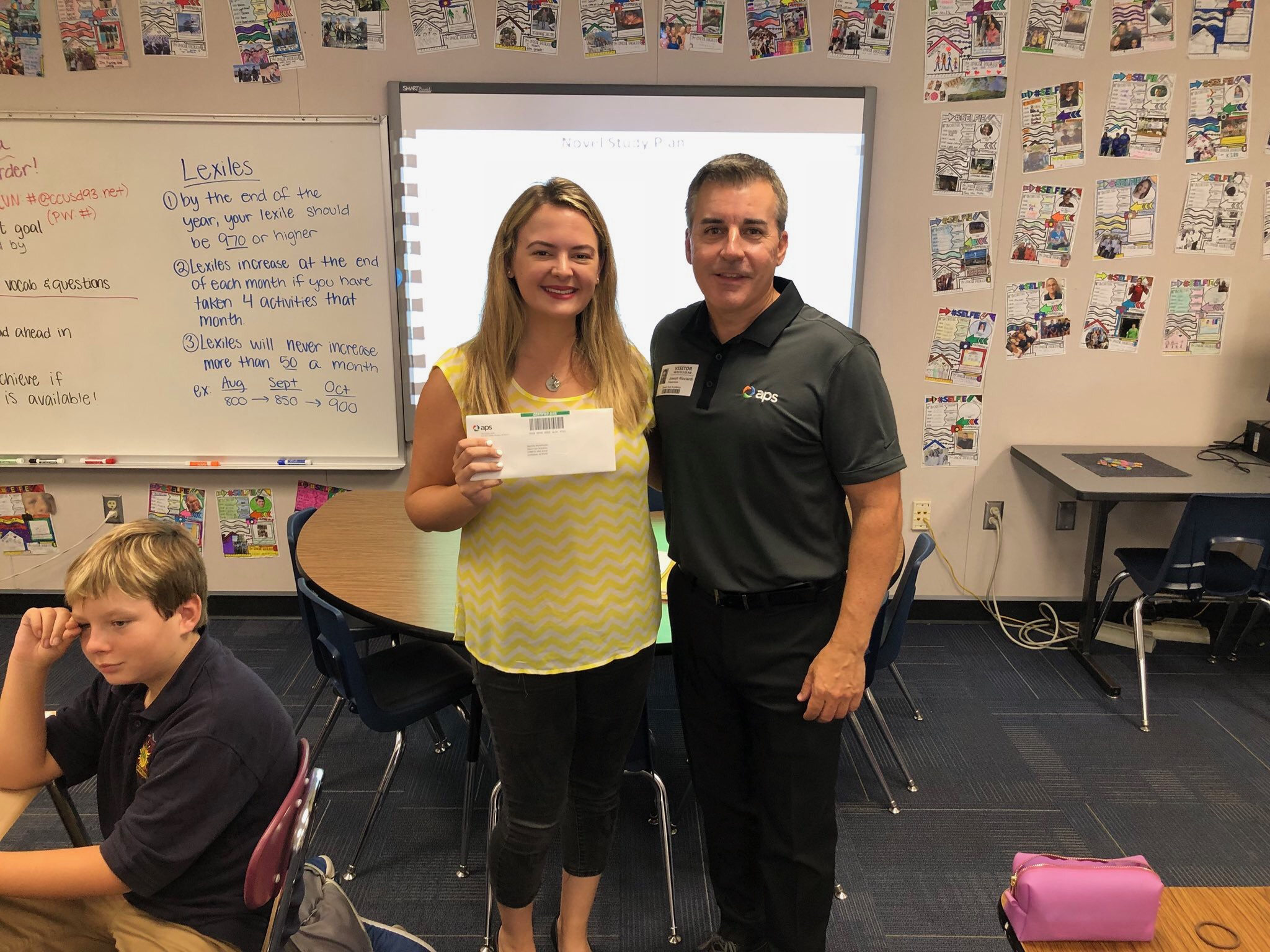 Ms. Danielle Michalizysen Was One Of The Three Cave Creek Unified Teachers Who Won The Arizona Public Services (APS) Supply My Class Awards. Photo Courtesy Cave Creek Unified School District