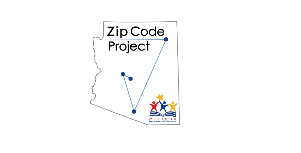 Zip Code Project Image Courtesy Arizona Department Of Education