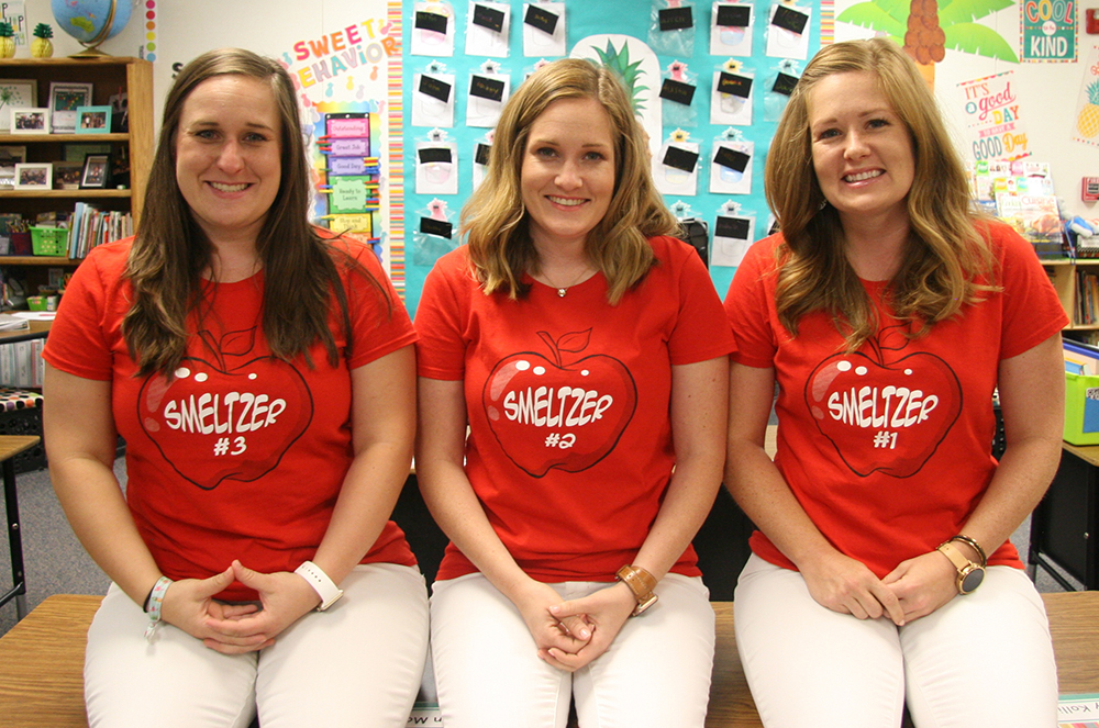 Pictured From Left: Lauren Smeltzer, Ashley Smeltzer And Erica Smeltzer Are All Teachers At Ward Traditional Academy In The Tempe Elementary School District. Photo Courtesy Tempe Elementary School District