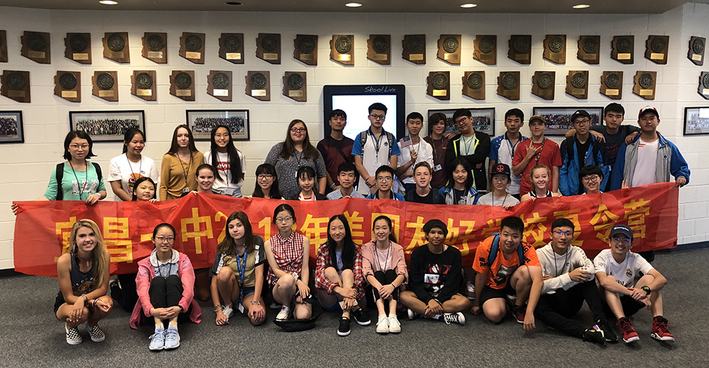 Chinese sister student delegation arrives in Cave Creek Schools Chinese-students-at-CSHS