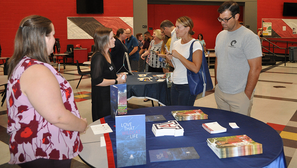 Arizona universities travel the state helping students learn more about college admissions, financial aid TriUniversityTour2