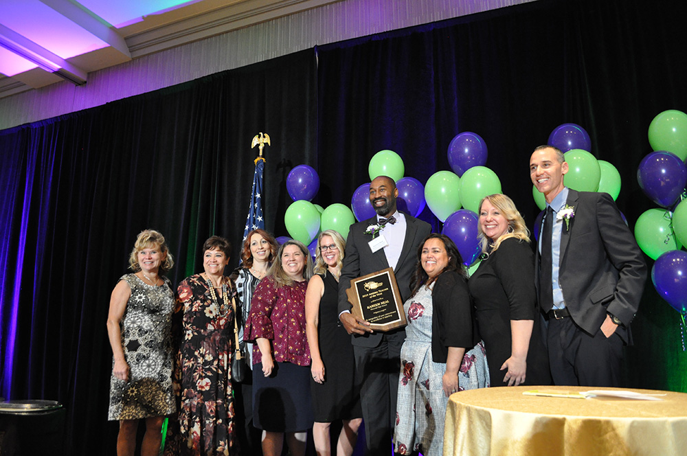 Kareem Neal named AEF 2019 Arizona Teacher of the Year DSC_0134