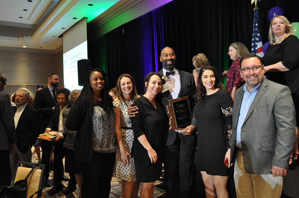 Kareem Neal named AEF 2019 Arizona Teacher of the Year DSC_0140