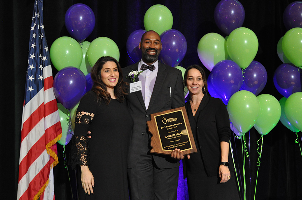 Kareem Neal named AEF 2019 Arizona Teacher of the Year DSC_0152