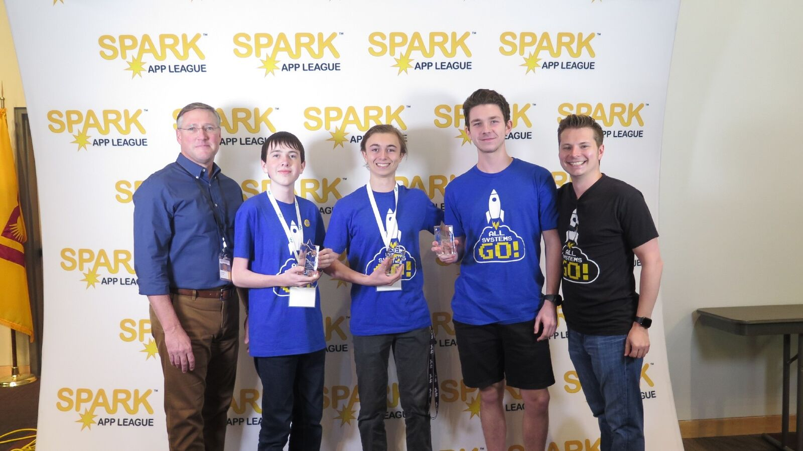 More Than Two Dozen Higley And Williams Field High School Students From Gilbert And Queen Creek Took Part In The 2018 SPARK App Game Jam In September, Organized By The Town Of Gilbert As A Way To Spark Creativity And Imagination Using A Medium Familiar With Today's Teens: Video Game Apps. The Winning Team Was Made Up Of Seniors Daniel Pickering, Brady Jenkins And Dylan Franzen. Photo Courtesy Higley High School