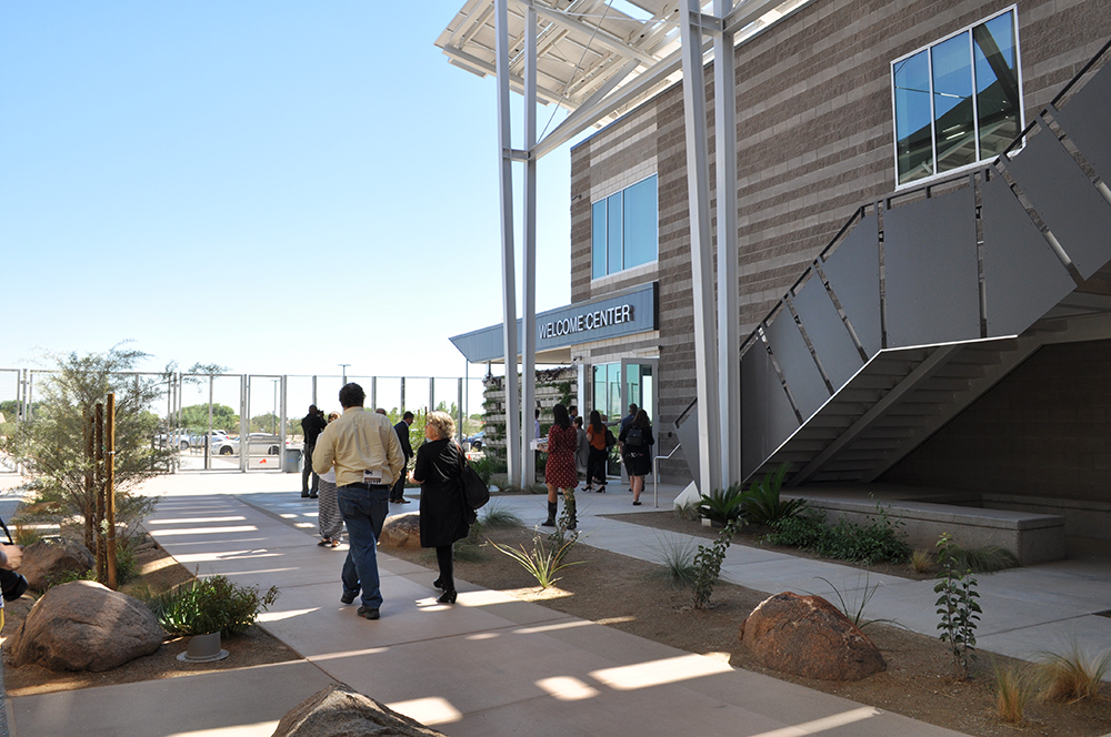 District gets international attention for re-thinking what school looks like Welcome-Center