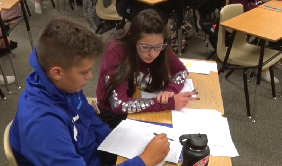 Leaders At South Valley Junior High In Gilbert Public Schools Knew They Had To Make Changes To Improve Math Learning At Their School. Photo Courtesy Gilbert Public Schools