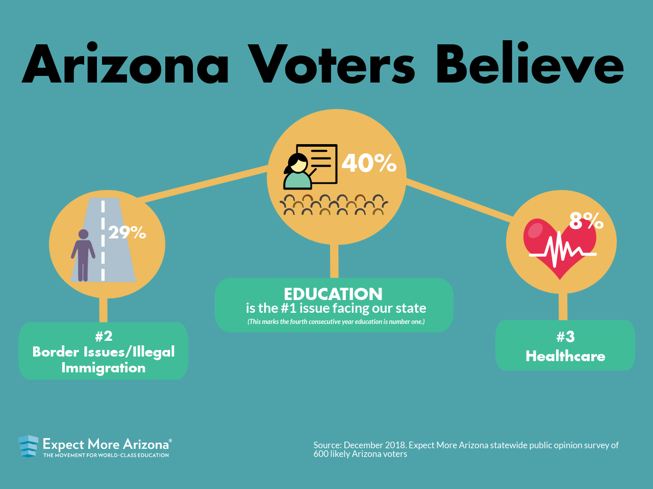 Expect More Arizona Poll Results Infographic
