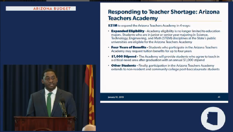 Gov's budget details: More funds for school repairs, counselors, career education Kwesi-Teacher-academy