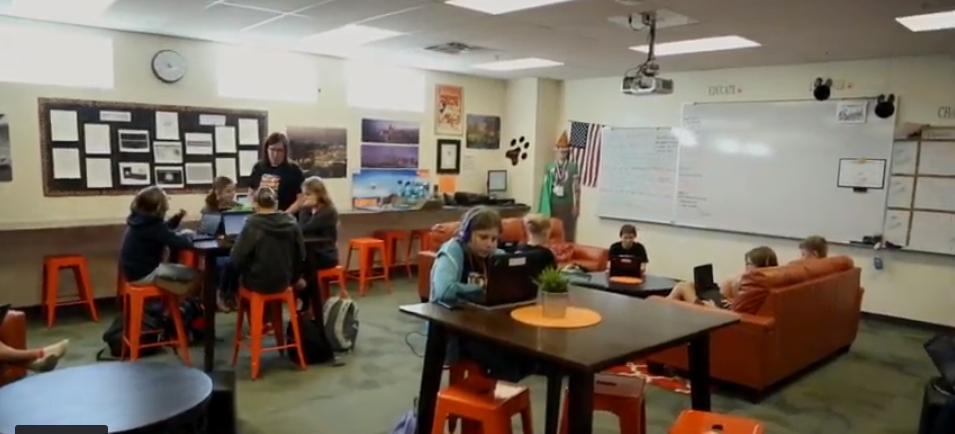 The Project-based Blended Learning Program At Maricopa Unified School District Has Been Boosting Students' Achievement On AzMERIT, Increasing Collaboration And Showcasing Their Creativity For The Past Five Years. Photo Courtesy Brooke Martinez/ ASBA