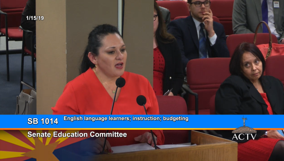 Advocates, Senate Education Committee support ELL instruction flexibility Marisol-Garcia